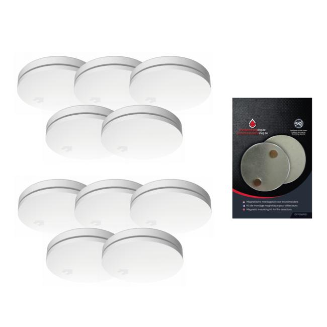Protectionincendieshop Design détecteur de fumée paquet large