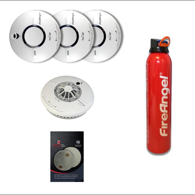 Protectionincendieshop Paquet de promotion détecteurs de fumée et chaleur 2020 small