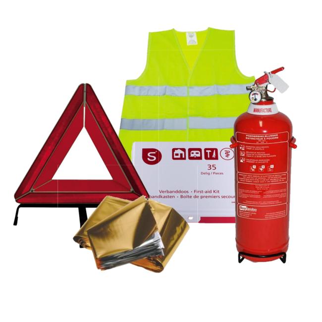 Protectionincendieshop Pack de sécurité voiture