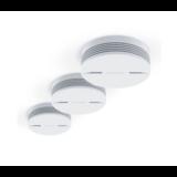 Détecteur de fumée connecté Netatmo triple pack - Kits de montage magnétique GRATUITS !