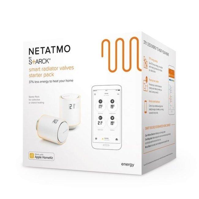 Netatmo Têtes thermostatiques intelligentes Netatmo Starter Pack NA-74-008