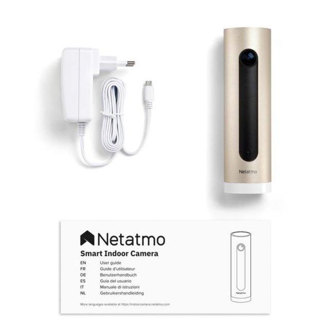 Netatmo Caméra intérieure intelligente Netatmo Welcome NA-74-010