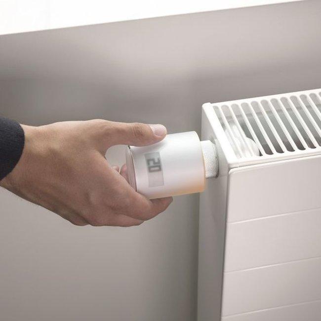 Netatmo Paquet Netatmo Thermostat Intelligent + 3 Têtes Thermostatiques Intelligentes Additionnelles