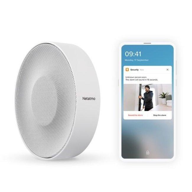 Netatmo Paquet de sécurité Netatmo Welcome + 3 détecteurs d'ouverture intelligents  + sirène intelligente