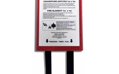 Couvertures anti-feu