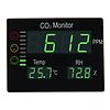 Protectionincendieshop OFPG Compteur de CO2 panneau XL avec température et humidité