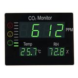 OFPG Compteur de CO2 panneau XL avec température et humidité