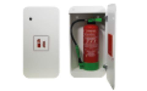 Cabinets et supports d'extincteurs design