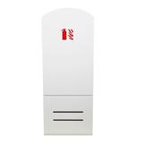 Cabinet d'extincteurs design Soprano blanc