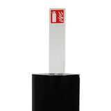Totem avec pictogramme pour cabinet d'extincteurs design Alto Single