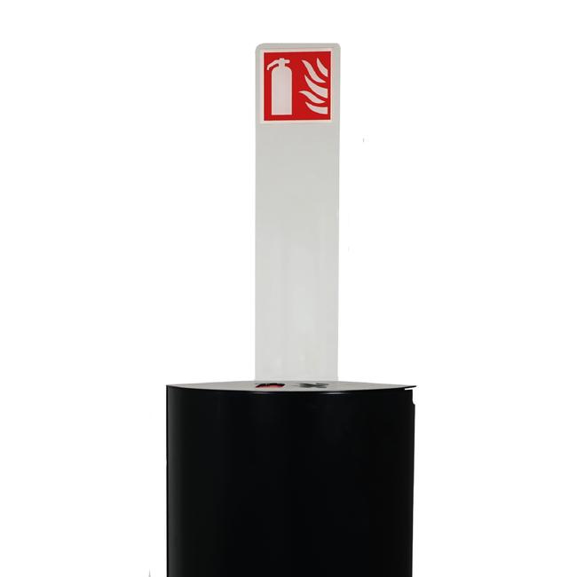 Designfeu Totem avec pictogramme pour cabinet d'extincteurs design Alto Single
