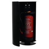 Cabinet d'extincteurs design Alto Single noir