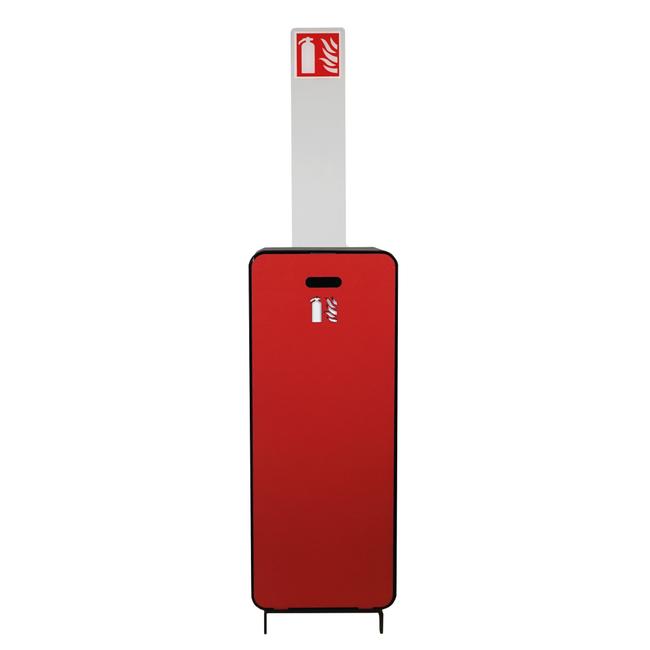 Designfeu Totem avec pictogramme pour cabinet d'extincteurs design Harmony
