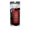Designfeu Cabinet d'extincteurs design Harmony blanc avec porte textile rouge