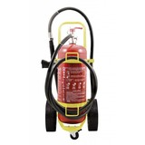 Extincteur sur roues de 100l à eau pulvérisée (mousse) (AB) pression permanente