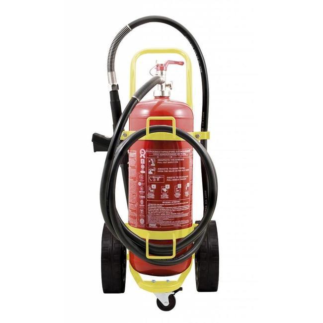 Protectionincendieshop Extincteur sur roues de 100l à eau pulvérisée (mousse) (AB) pression permanente