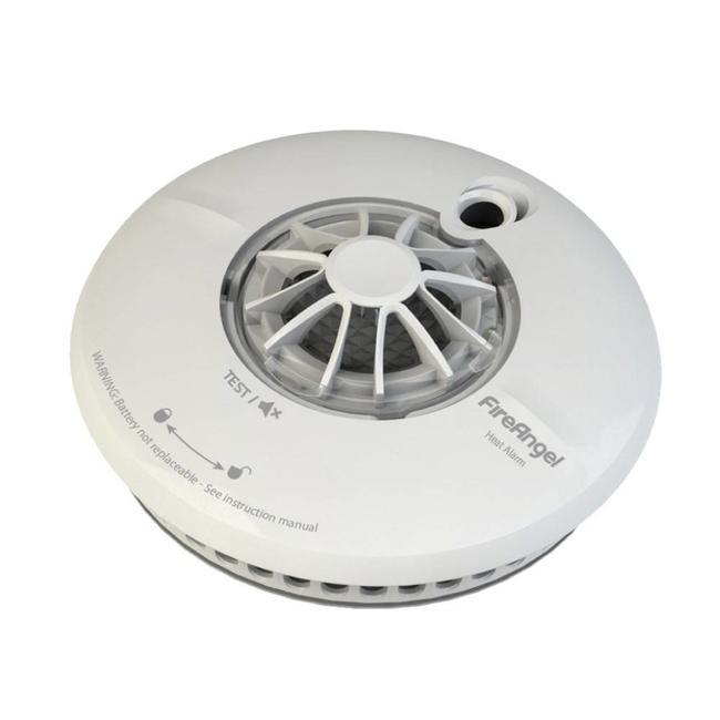Fire Angel Détecteurs de chaleur Fire Angel WHT-630-EUT Wi-Safe Thermistek connectable sans fil