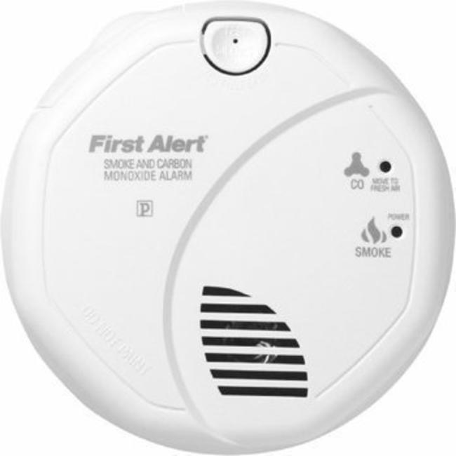 First Alert Détecteur de fumée et CO 2-en-1 AngelEye - kit de montage magnétique GRATUIT!