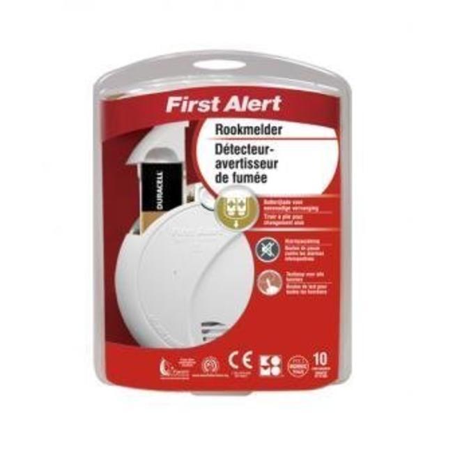 First Alert Détecteur de fumée optique 9V First Alert - garantie 10 ans