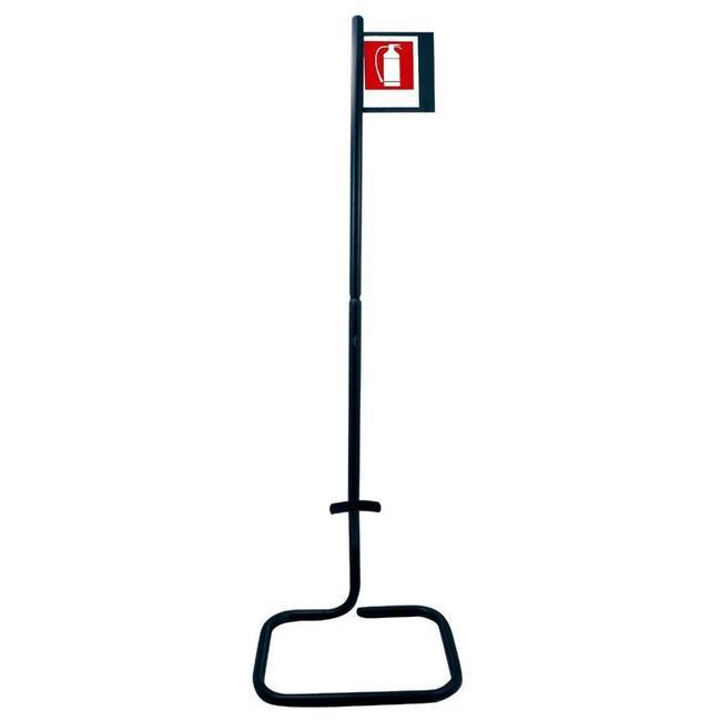 Protectionincendieshop Support au sol extincteur avec signalisation