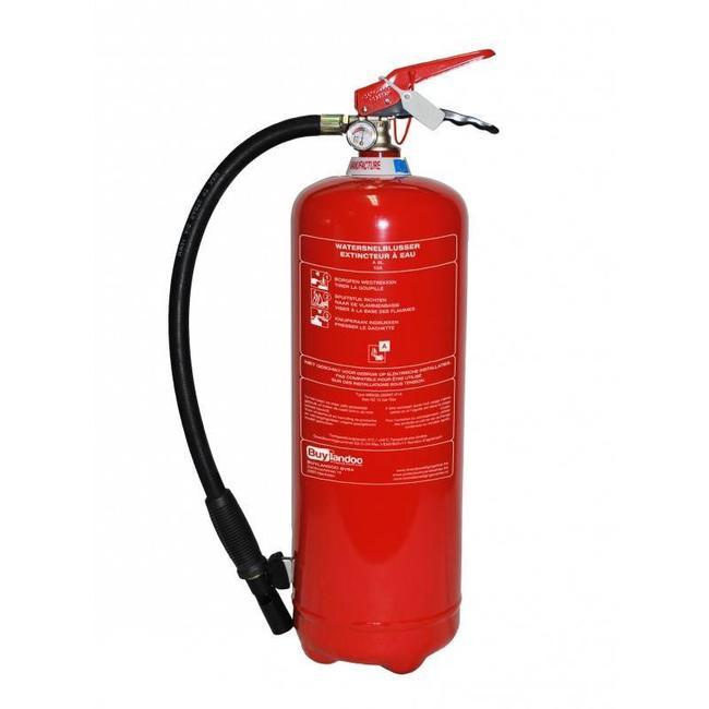 Protectionincendieshop Extincteur à eau 6l (A) pression permanente