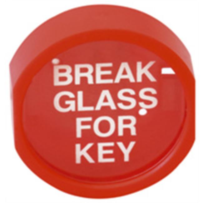 Protectionincendieshop Boîte à clés en plastique avec face fragile