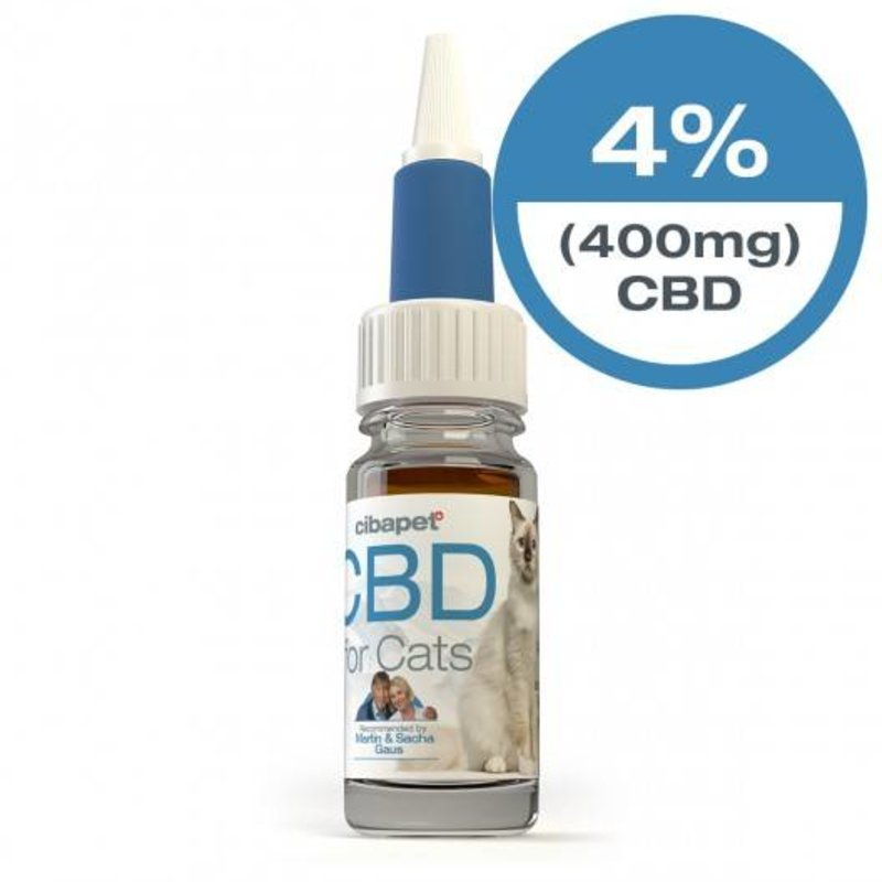 Cibapet 4% CBD Oil for cats