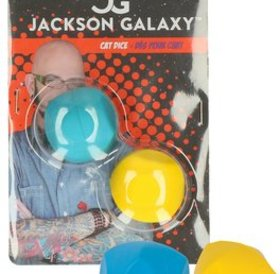 Jackson Galaxy Cat Dice Rubber & Soft