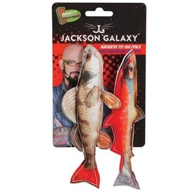 Jackson Galaxy Marinator Toy Photo Fish (2 st.)