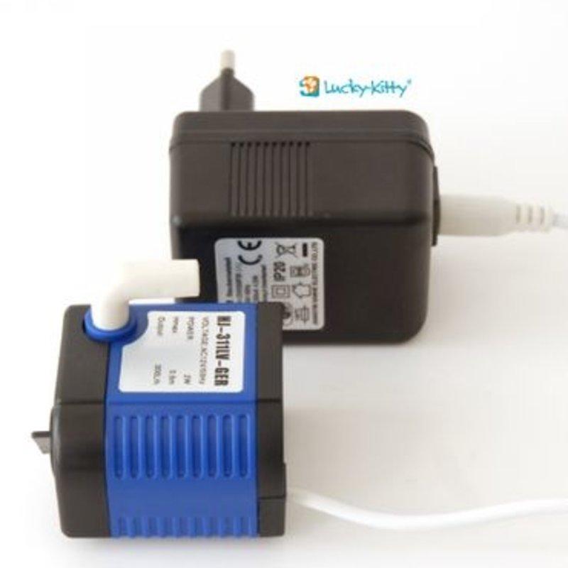 Replacement motor pump