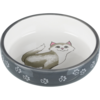 Trixie Flat ceramic food bowl