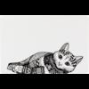 Trixie Placemat Cat