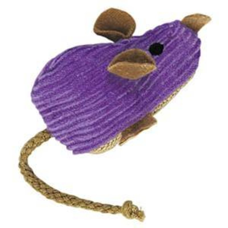 Kong Corduroy Catnip Mouse