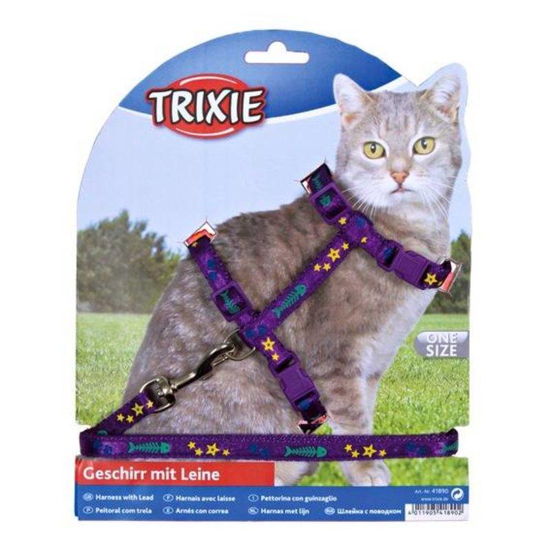 Trixie Kattentuig met motief + lijn