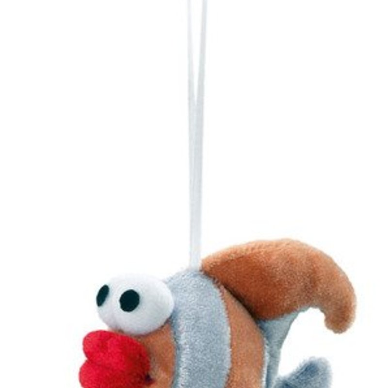 Hunter Plush cat toy with suction cup