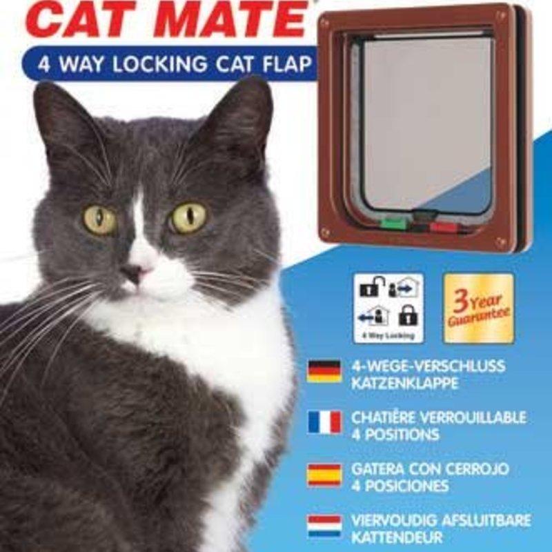 CAT MATE Kattenluik 4-standen