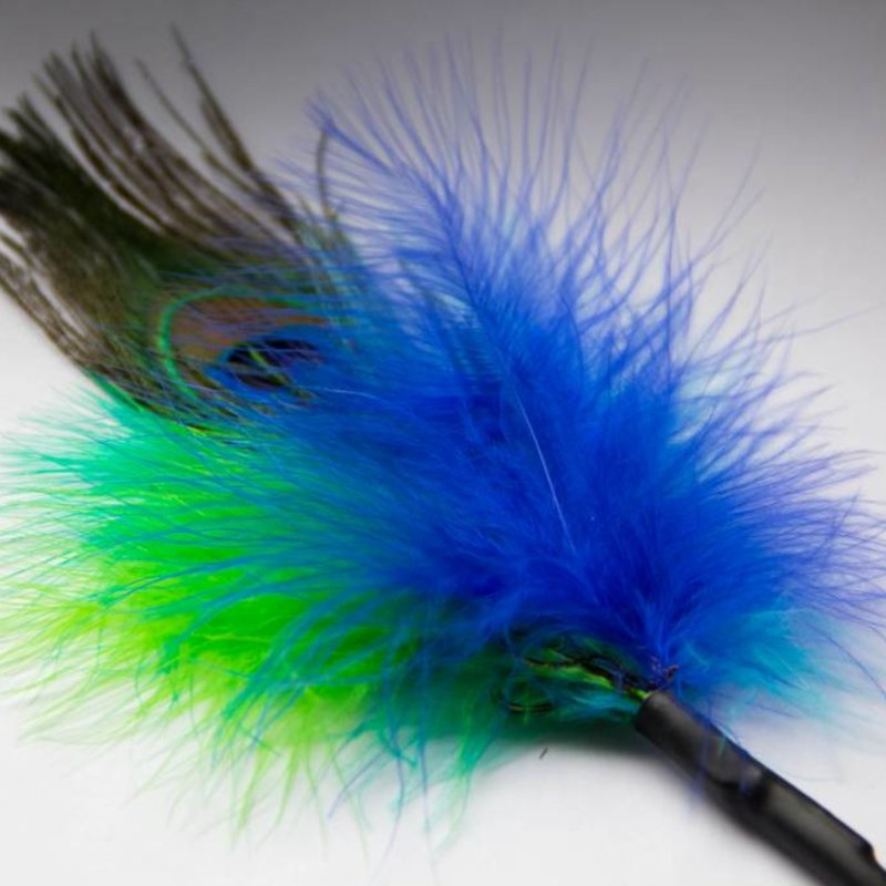 Purrs Peacock feather (peacock fluffer)
