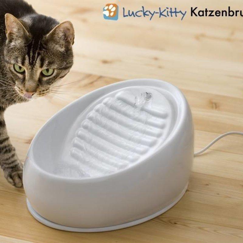 Lucky Kitty Keramische fontein