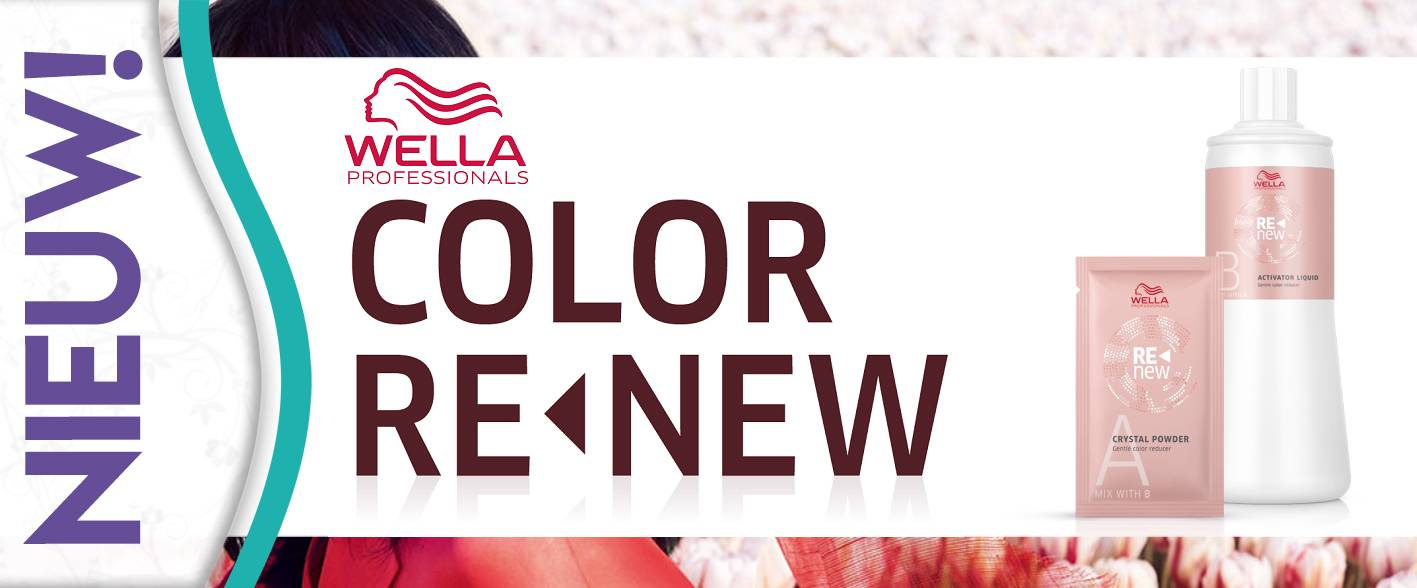 Nieuw - Wella's Color ReNew Kleurcorrectie!