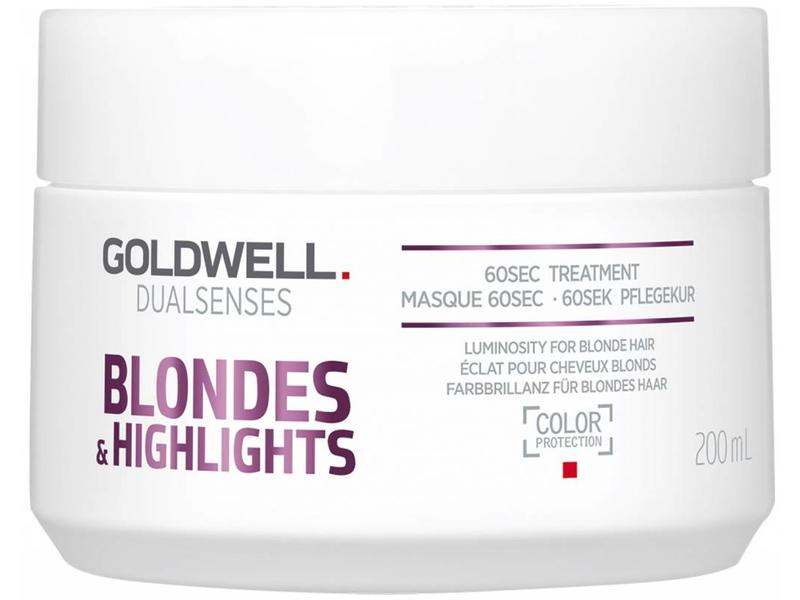 Goldwell DualSenses Blondes & HighLightsHaarmasker60Sec Treatment