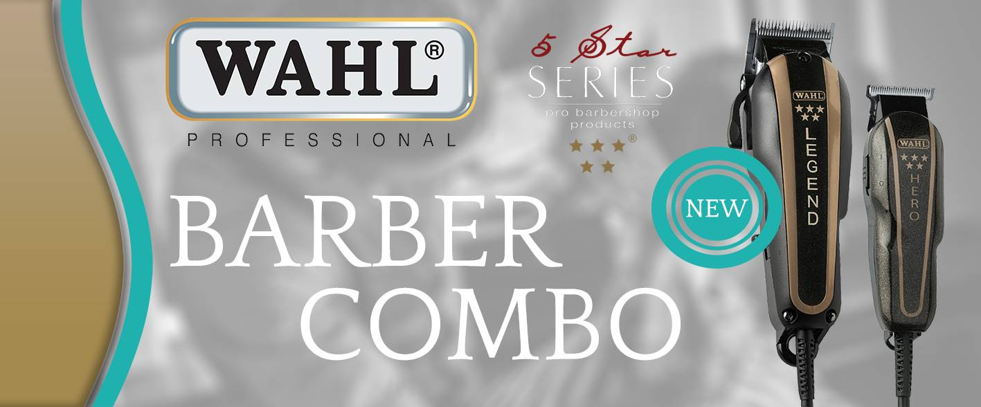Nieuw! Wahl Legend Tondeuse & Hero Trimmer Barber Combo (Limited Edition)