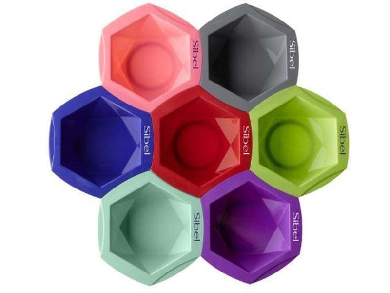 Sibel Verfbakjes Set Mix&Match Gekleurd 7Stk