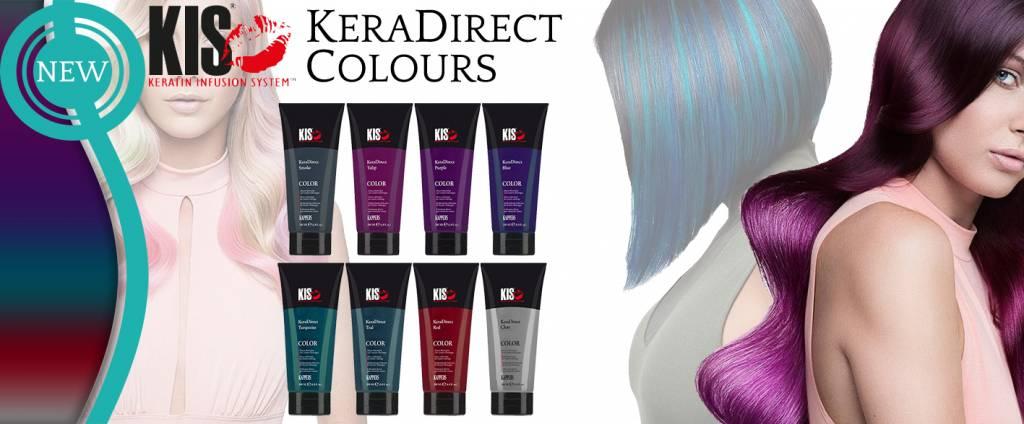 KeraDirect Colors, de nieuwe trendlijn van KIS Kappers.
