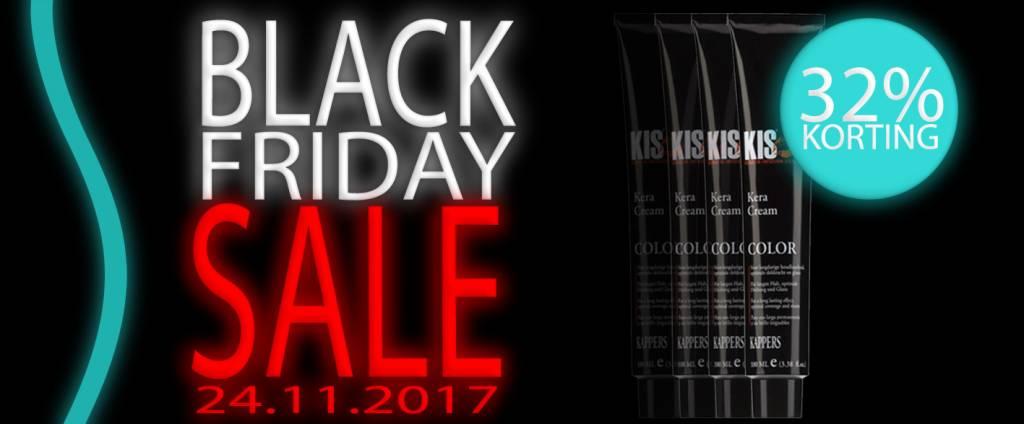 Black Friday Sale bij Kappershandel!