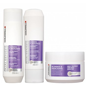Goldwell DualSenses Blondes & Highlights Pakket (voor blond en gehighlight haar)