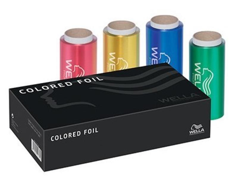 Wella Aluminium Folie Gekleurd (4x50mtr)