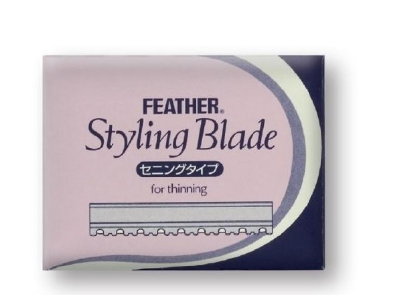 Feather Styling Blades Scheermesjes Thinning 5x10Stk