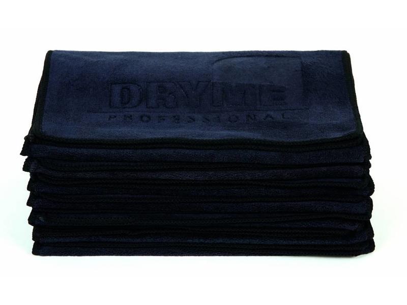ME Professional DryME Microfiber Salon Handdoek Antraciet/Zwart (12 Stuks)