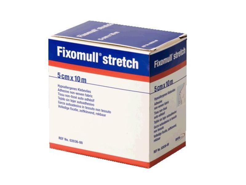 Fixomull Stretch Hechtpleister (5cmx10m)