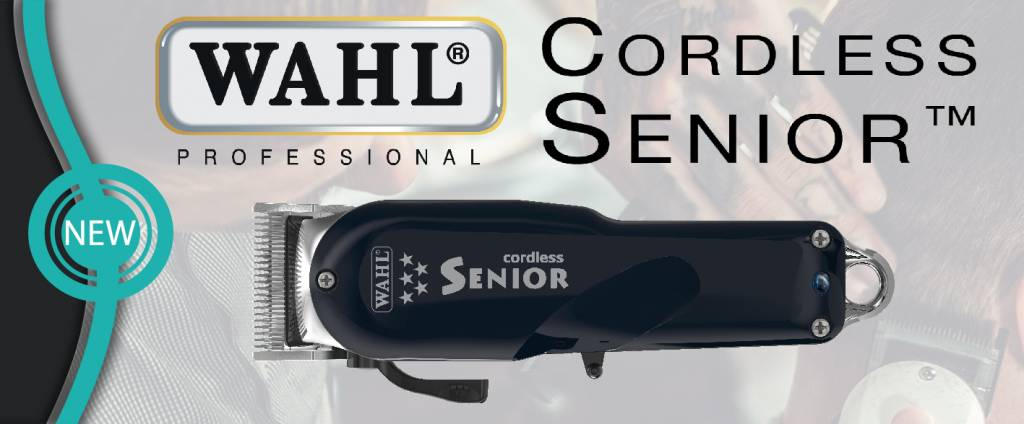 WAHL Senior Cordless Tondeuse - nu bij Kappershandel!